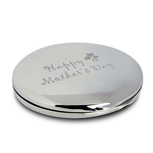 Personalised Mother's Day Compact Mirror - compact mirrors