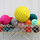Paper Balls Large Party Decorations