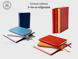 Three Notebooks In A Slipcase