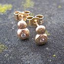 Rocky Outcrop Stud Earrings