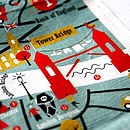 Kids Crumpled City Map