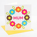 Flower Mum Card