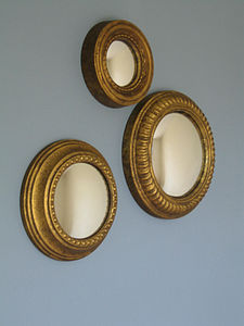 Set Of Three Convex Mirrors - mirrors