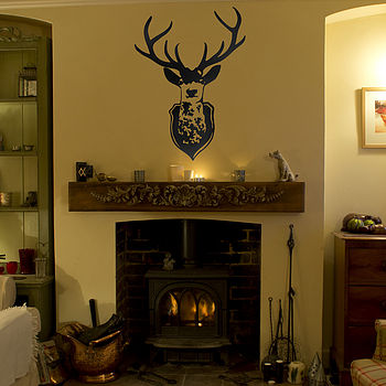 Stag's Head Wall Sticker