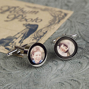 Design Your Own Photo Frame Cufflinks - cufflinks