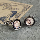 Design Your Own Photo Frame Cufflinks