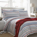 Hudson Stripe Organic Cotton Bedding