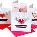 Crystal Necklace Mother's Day Card