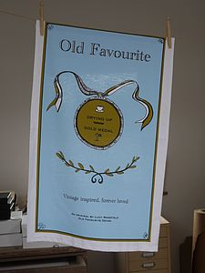 Gold Medal Tea Towel - Pack Of Two