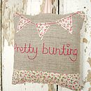 'Pretty Bunting' Lavender Bag