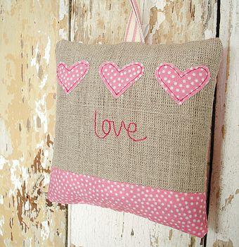 'Love' Lavender Bag