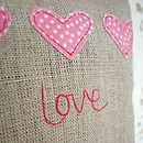 'Love' Lavender Bag