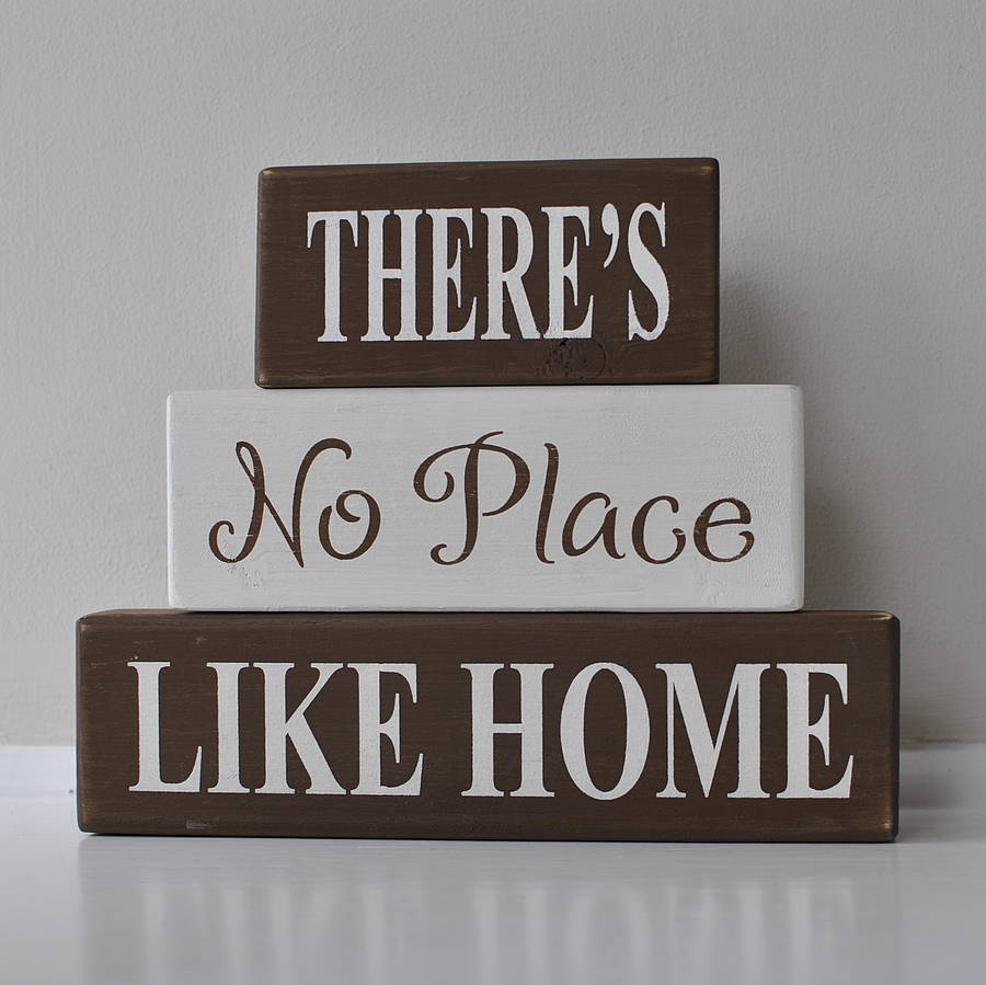 There S No Place Like Home Welcome Mat