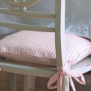 Cotton Chair Cushion - cushions
