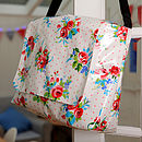 Oilcloth Baby Changing Bag Amelia