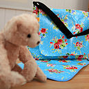 Oilcloth Baby Changing Bag Lavinia