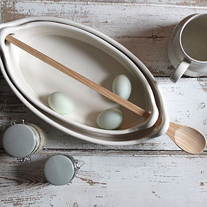 Double Dish And Spoon - kitchen accessories