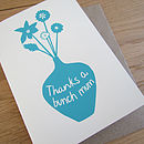 'Thanks a Bunch Mum' Card