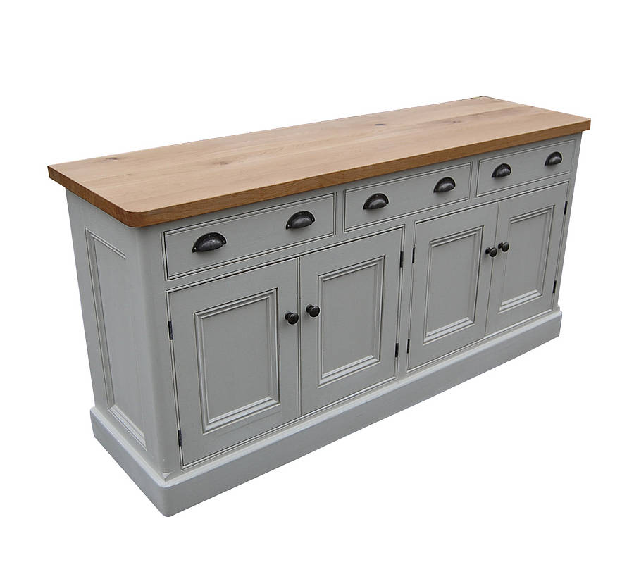 Reclaimed painted wood sideboard by eastburn country furniture Paint wood furniture