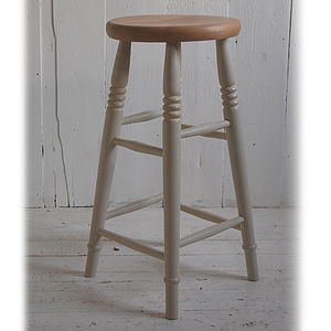 Beech Top Bar Stool - kitchen