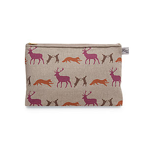 Wash Bag Animals - make-up bags
