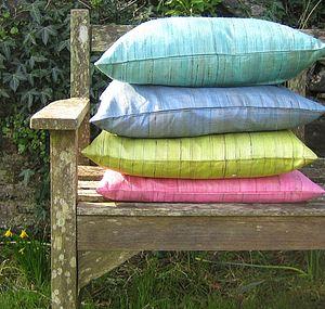 Raw Silk Cushion - cushions