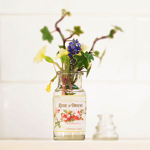 Decorative Glass Storage Bottle