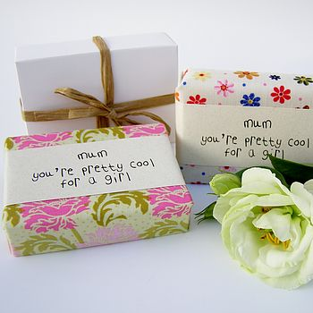 Mother's Day Personalised Handmade Soap