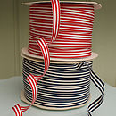 Grosgrain Ticking Stripe Ribbon