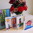 Children's Artwork Acrylic Block