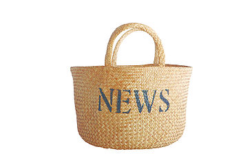 Magazine Basket Bag