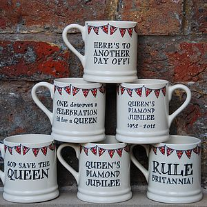 Queen's Diamond Jubilee Mug - view all sale items