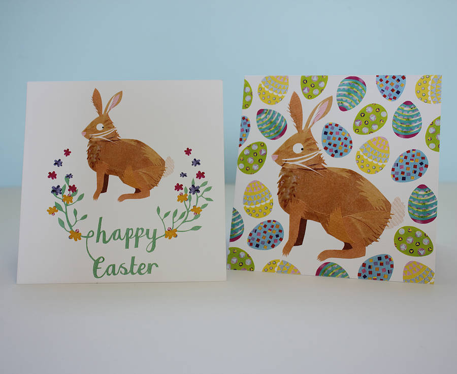 happy easter bunny card by kate slater ...