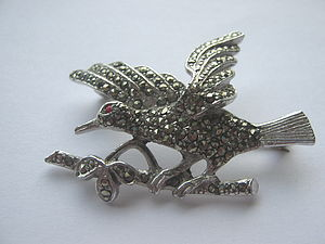 1950'S Bird Brooch - women's jewellery
