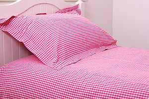 Gingham Duvet Sets -9 Colours Available