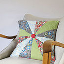 Liberty Print Patchwork Cushion Cover