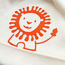 Friendly Lion Organic Cotton Baby Hat