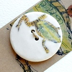 Handmade Prince Charming Frog Button - shop by price
