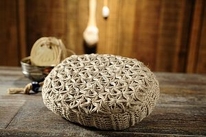 Linen Oval Loofah - as seen in the press