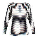 Cotton Striped Women's Sailor's Top
