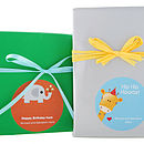 Child's Personalised Gift Stickers