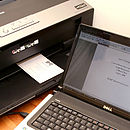 Print professional stationery using your home printer.