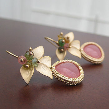 Wild Orchid Earrings