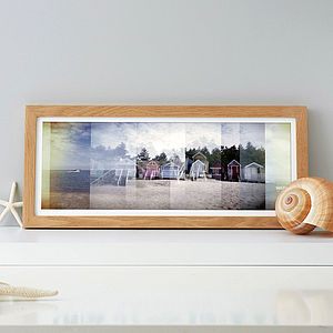Beach Huts Photographic Print - modern & abstract