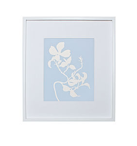 Dogwood Botanical Mounted Fine Art Print