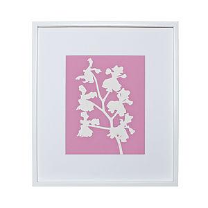 Vanda Orchid Botanical Mounted Fine Art Print