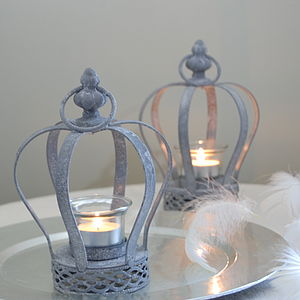 Crown Tealight Holder - lights & candles