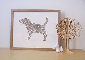 Dog Limited Edition Screen Print