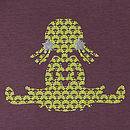 Organic Ragdoll Babygrow On Purple