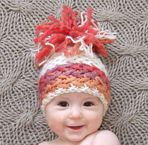 Hand-Knitted Luxury Baby Hat - children's hats & headscarves